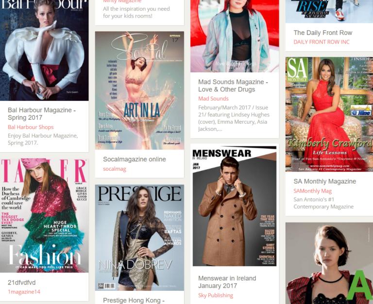 Dva informační zdroje: Tisíce módních tipů z celého světa