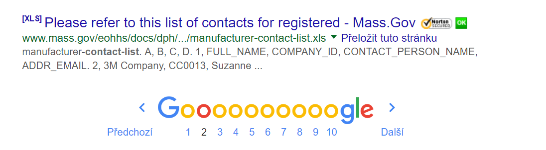 Google searchich media contacts