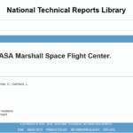 Bibliographic report NLTR NASA