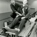 Testování bezpečnostních pásů