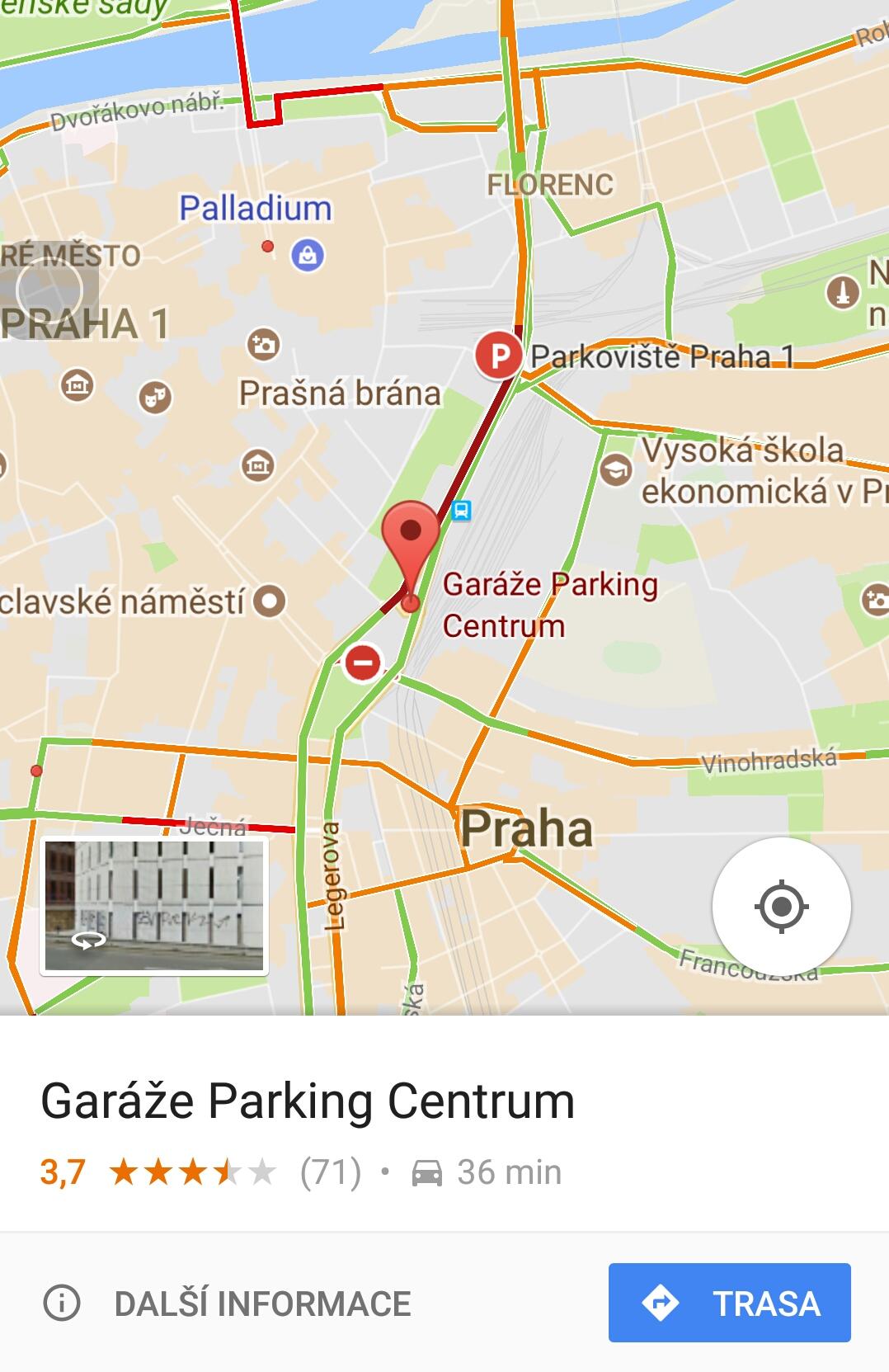 parkování:google
