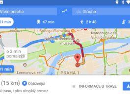 google_parkování