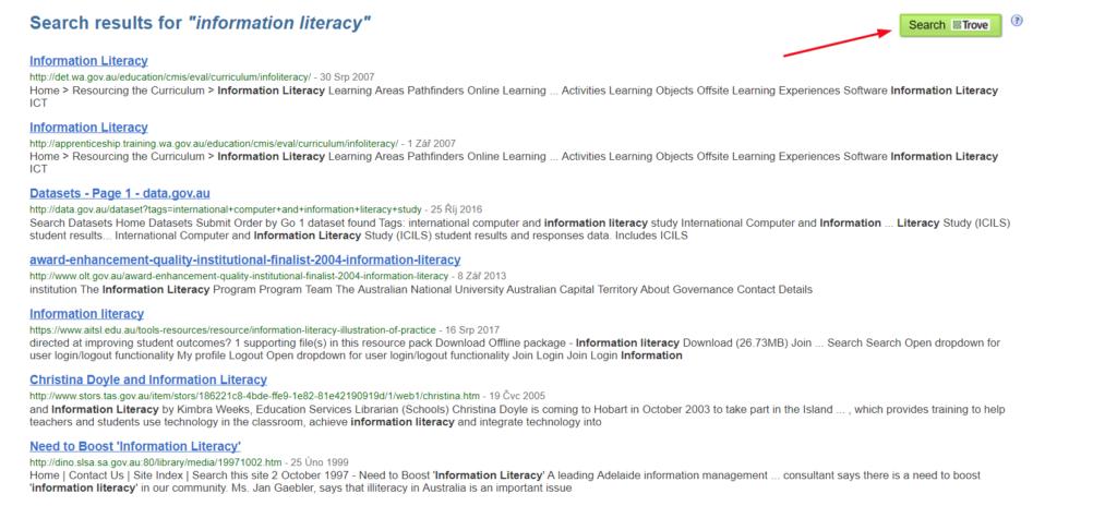 TROVE_Australian Government Web Archive