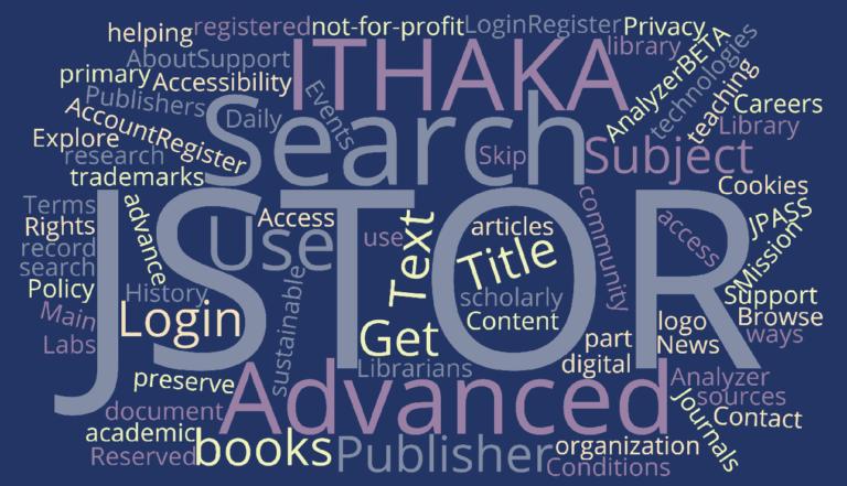 JSTOR: Vstupte do hlubokého webu k půl milionu odborných článků a tisíce knihám