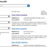 Obrázek 3 – Výsledky vyhledávání
