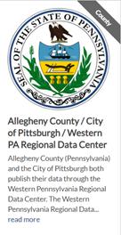 Obrázek 3: Profil organizace na stránce datasetu. [zdroj obrázku: data.gov]